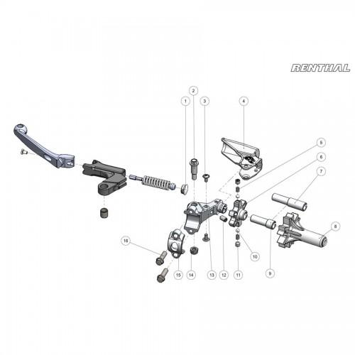LV-111 Clutch Wheel Adj Kit Gen2 IntelliLeverParts 5,6,7,9,10,11