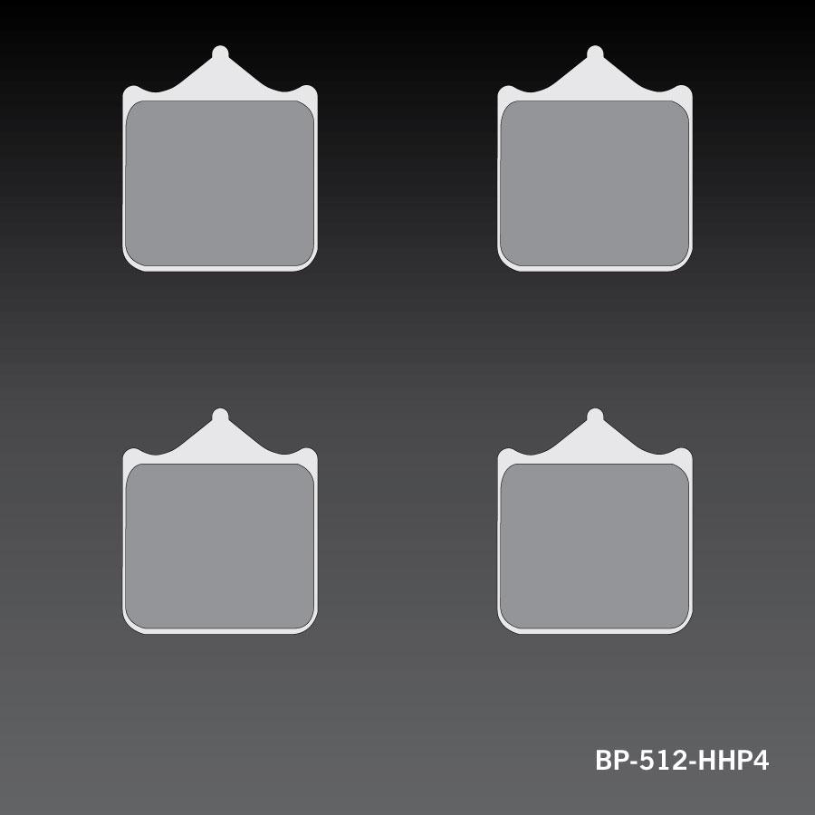 RC-1 Sports Brake Pad BP-512-HHP4