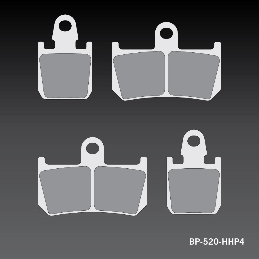 RC-1 Sports Brake Pad BP-520-HHP4