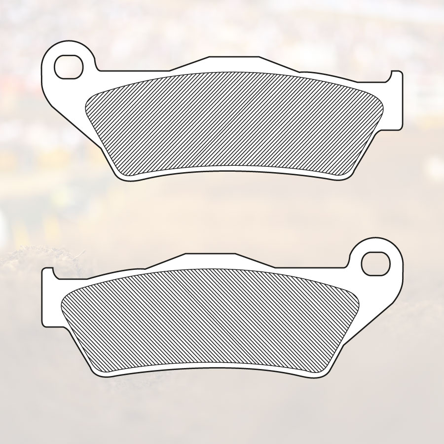 RC-1 Works Brake Pad BP-107