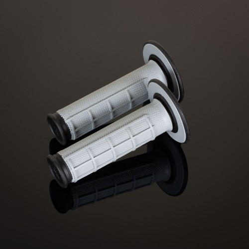 MX Dual Compound Grips 1/2 Waffle Grey