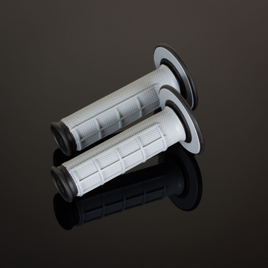 MX Dual Compound Grips 1/2 Waffle Grey