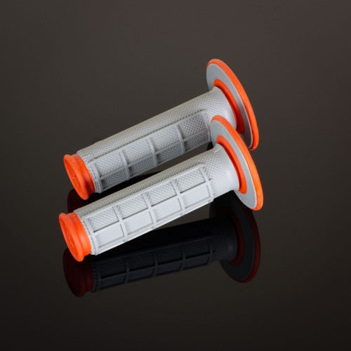 MX Dual Compound Grips 1/2 Waffle Orange