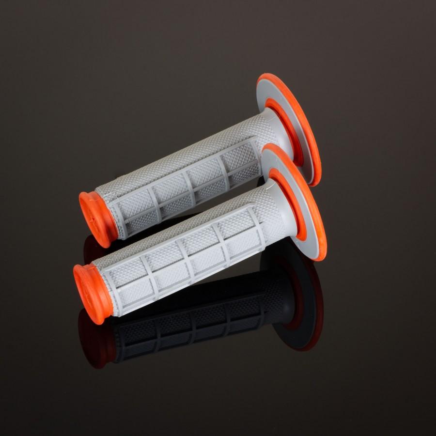 MX Dual Compound Grips 1/2 Waffle Orange
