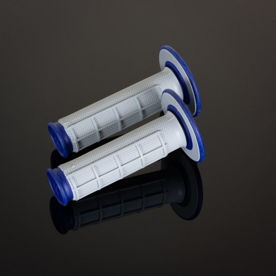MX Dual Compound Grips 1/2 Waffle Blue
