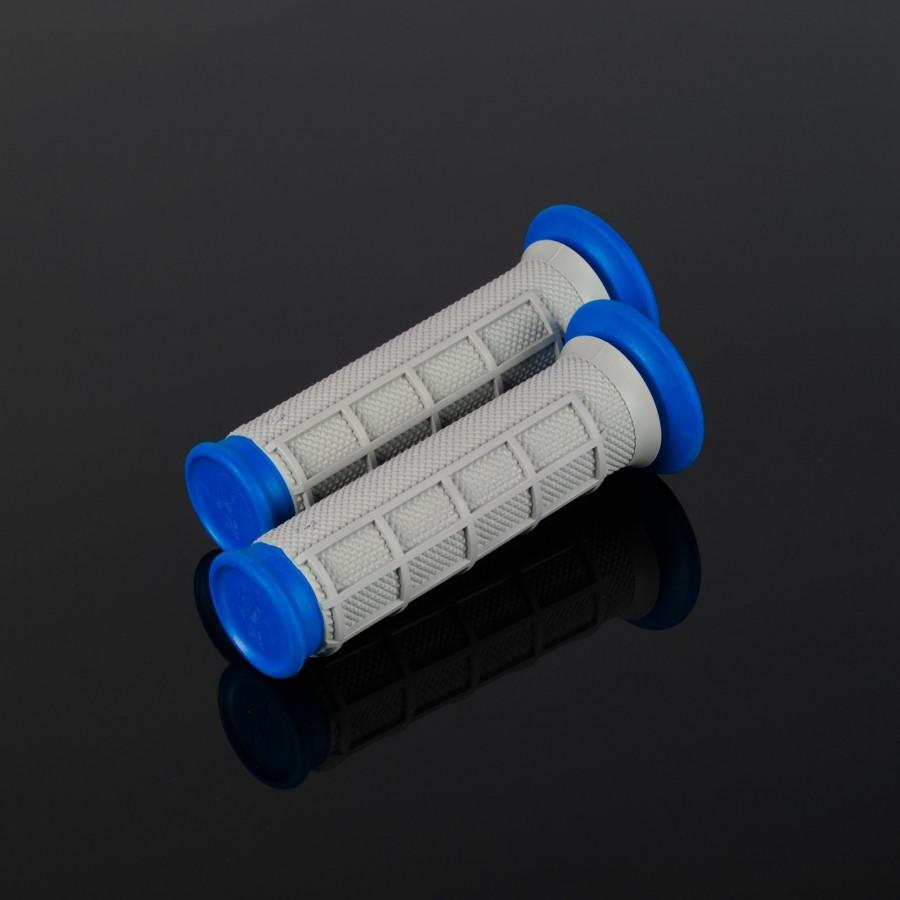 ATV Dual Compound Grips Blue