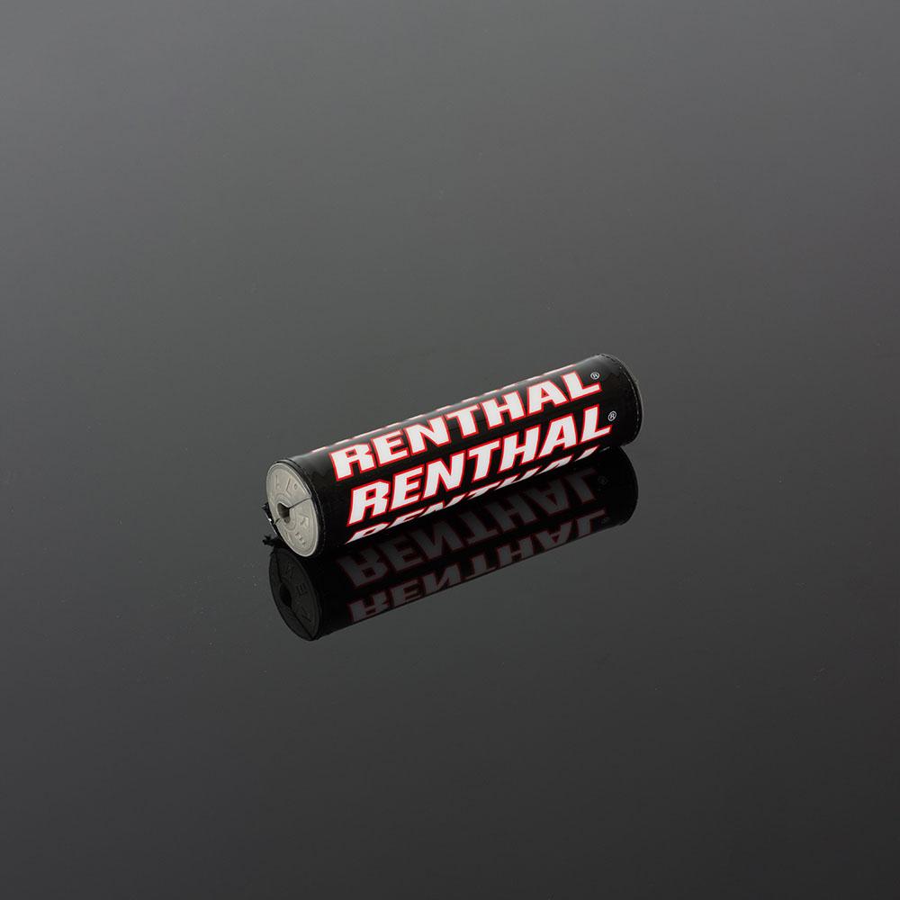 Renthal SX Crossbar Pad 240mm 10in Black//Red