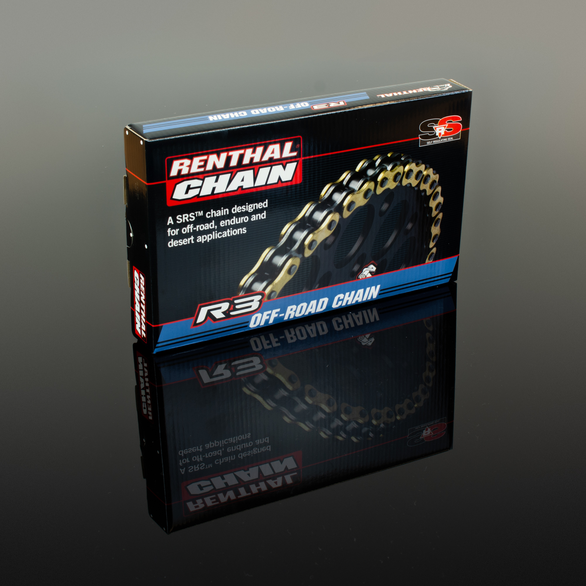 Renthal 420 R1 Works Non O-Ring Offroad Chain 130 Link